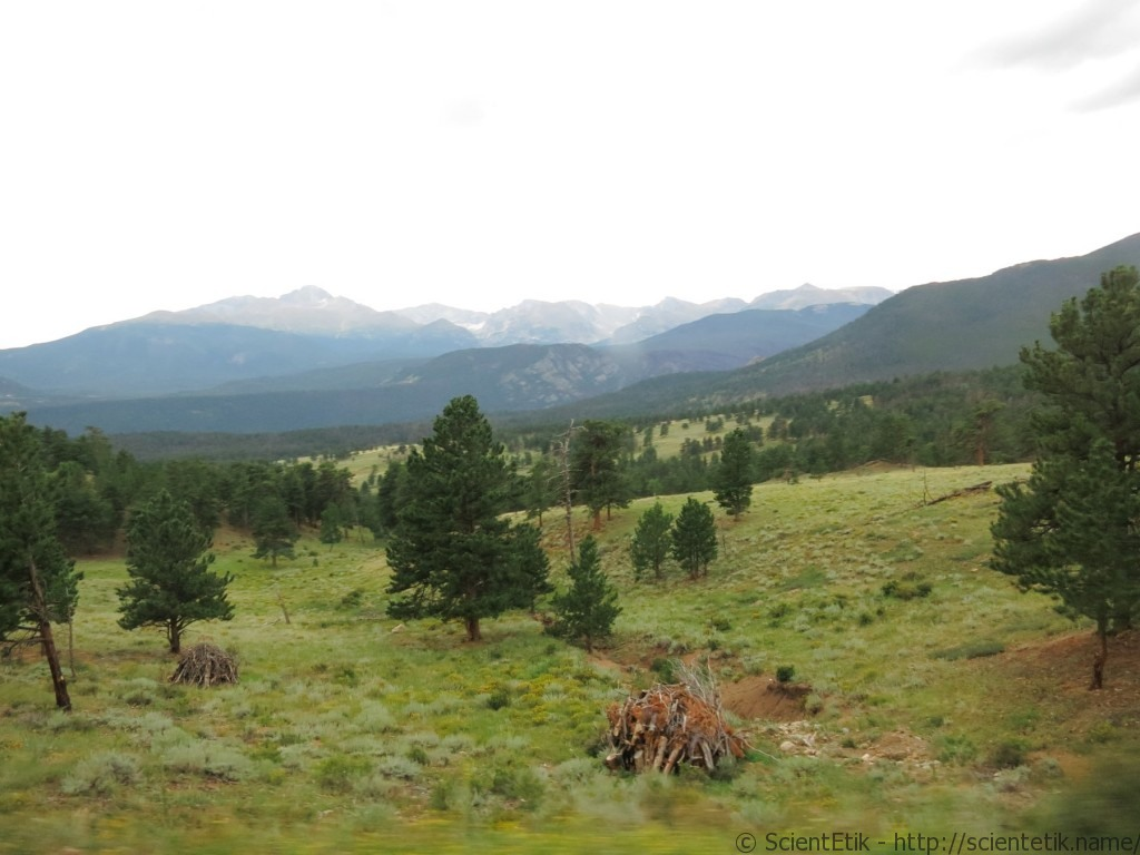 Rocky Mountain National Park valley