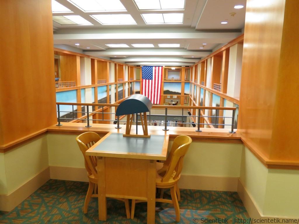 Denver Public Library reading place