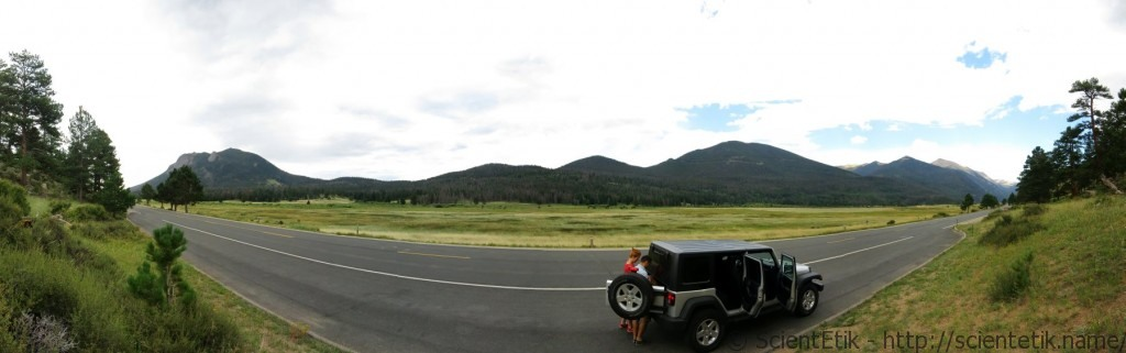 RM - 1 Rocky Mountain National Park valley 2