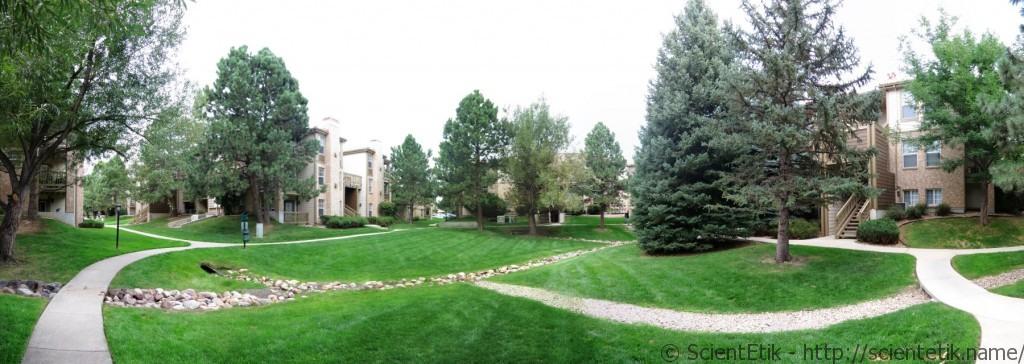 apartments - park