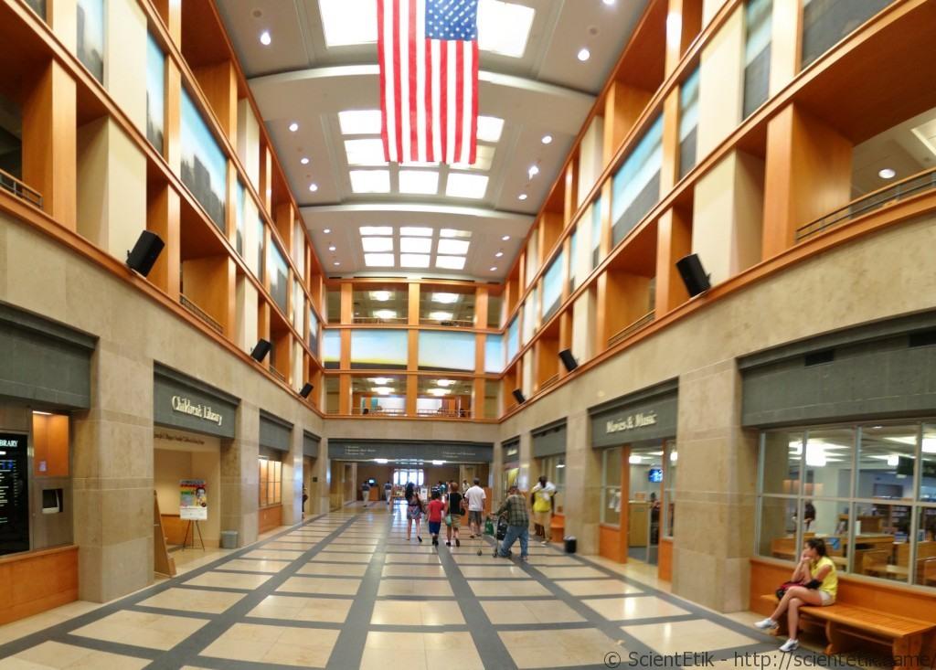 Denver Public Library hall