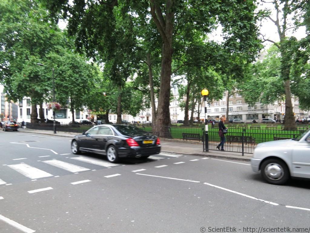 Пешеходные переход в лондоне